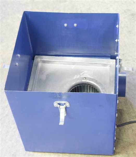 Flow Science Hood with filter box – 1
