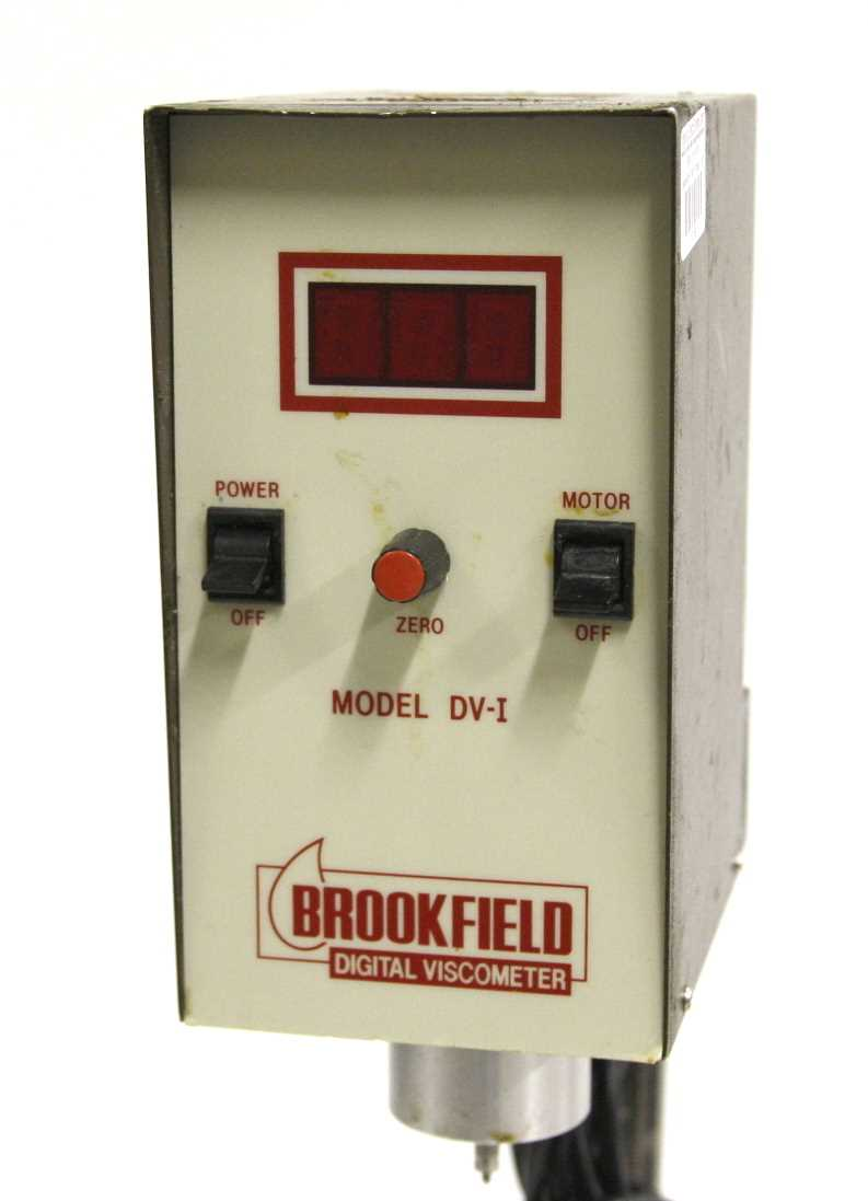 Brookfield Engineering LVTDV-1 Digital Viscometer