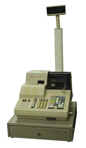 Sanyo Model ECR635 Cash Register