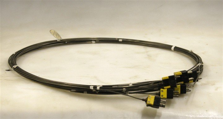 Thermocouple J Type Dual Element Probe Sheathed 19 ft L