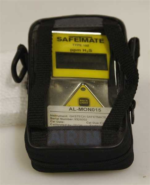 Gastech Safe T Mate 102 H2S Gas Detector - 1