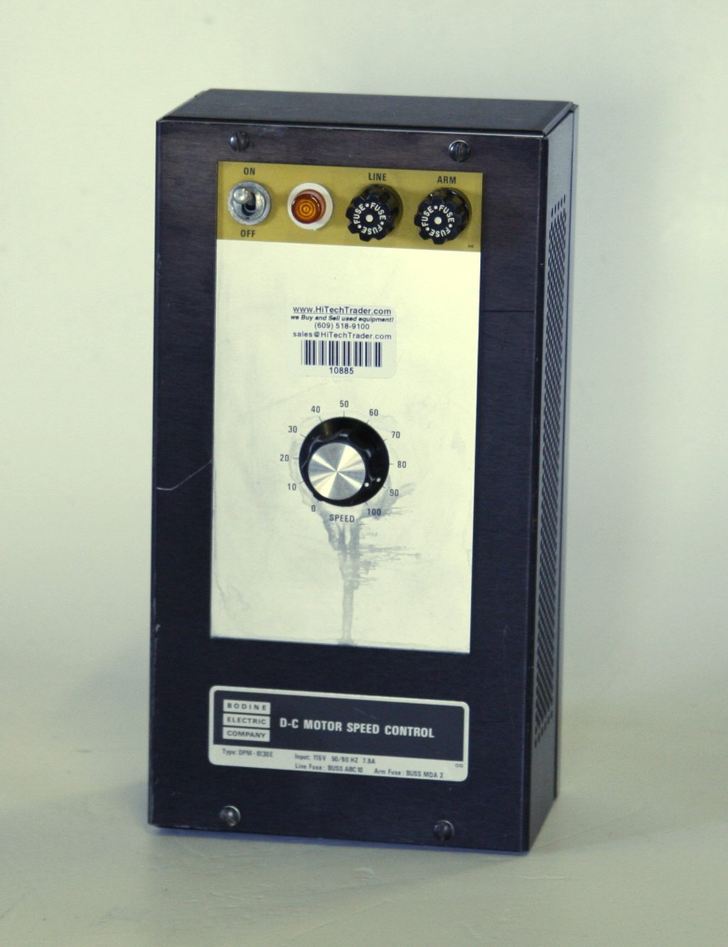 Bodine Electric Company DC Motor Speed Control