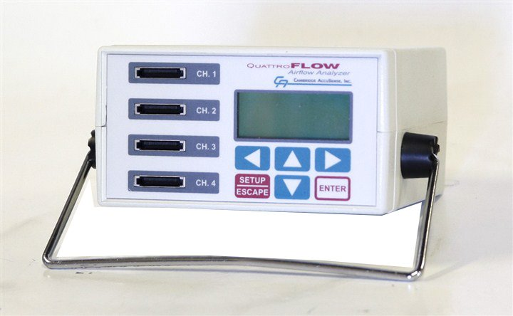 Cambridge Accusense QuattroFlow Airflow Analyzer