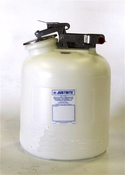 Justrite 5 Gallon Disposal Can