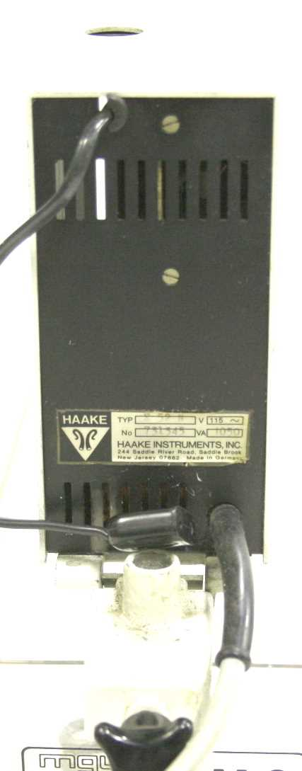 Haake E52N Immersion Heater Circulator - 1