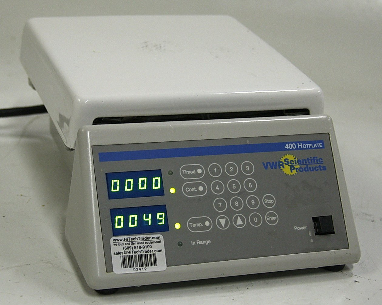 VWR Scientific 400 Programmable Hotplate