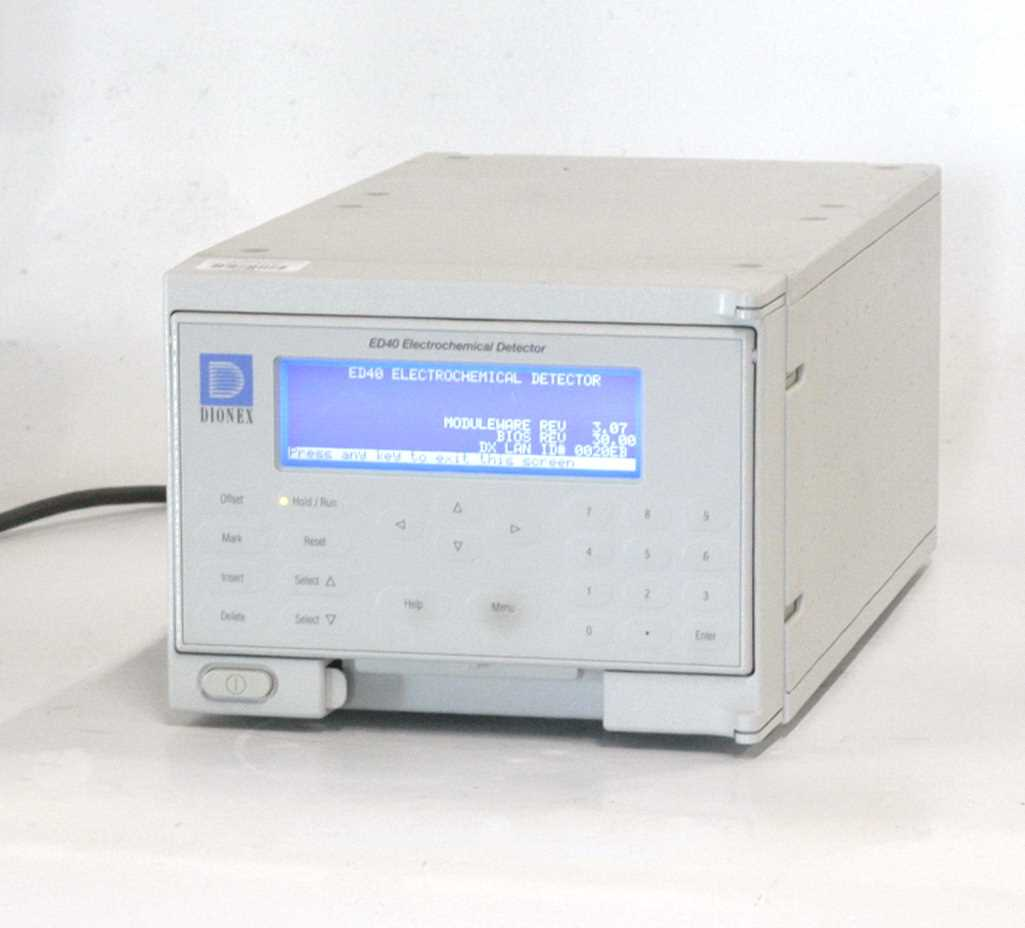 Dionex ED40 Electrochemical Detector
