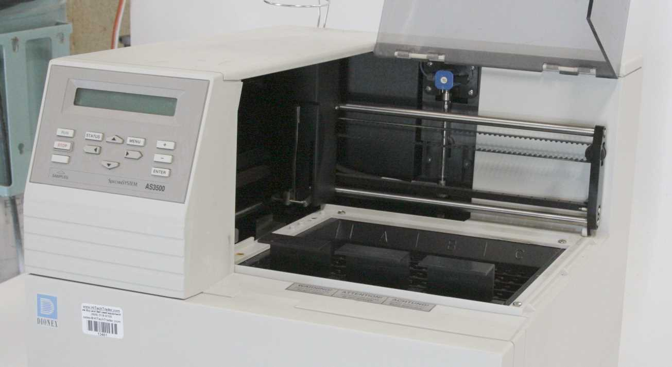 Dionex AS3500 Spectra System Autosampler – 1
