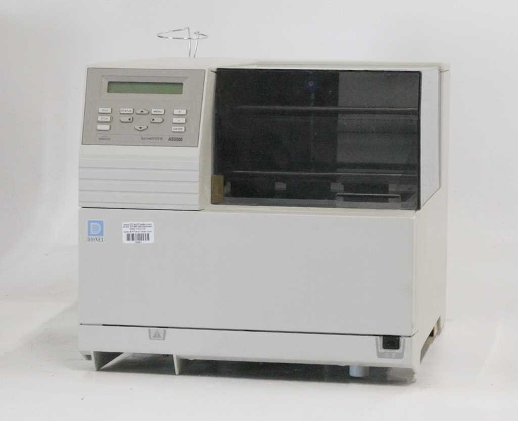 Dionex AS3500 Spectra System Autosampler