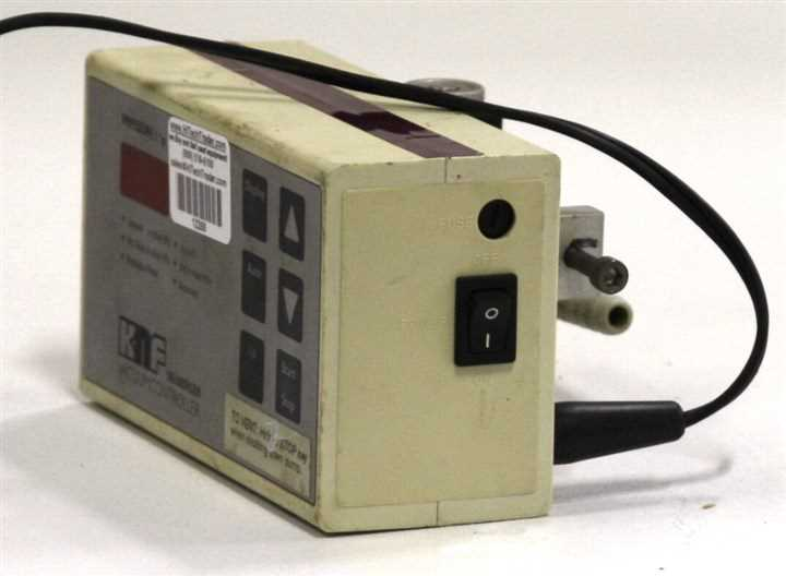 KNF Neuberger Vacuum Controller and Readout - 6