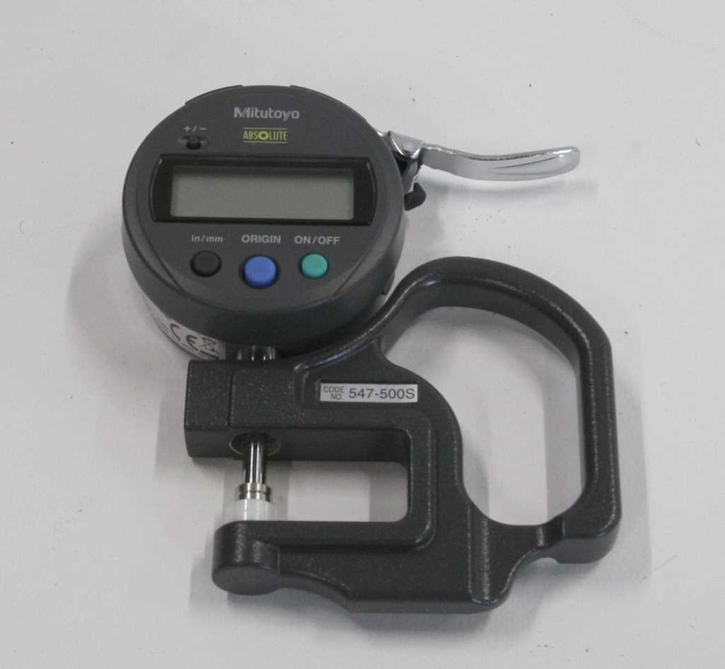 Mitutoyo Absolute Thickness Gauge