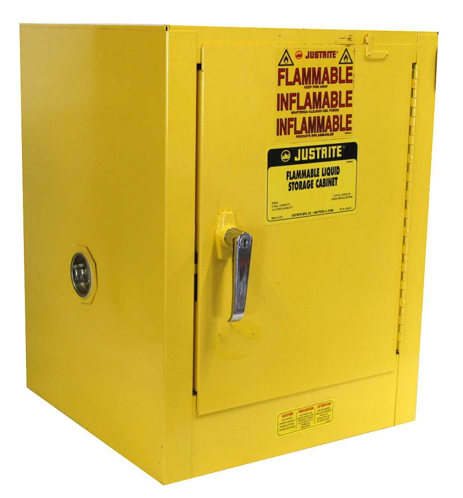 Justrite Flammable Storage Cabinet 4 Gallon