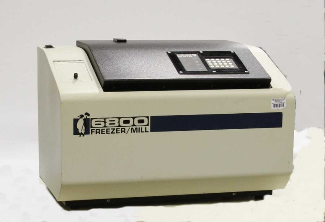 Spex Freezer Cryogenic Mill Certiprep 6800