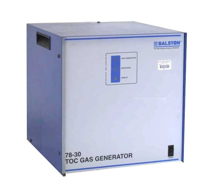 Balston TOC Gas Generator Model 78 30