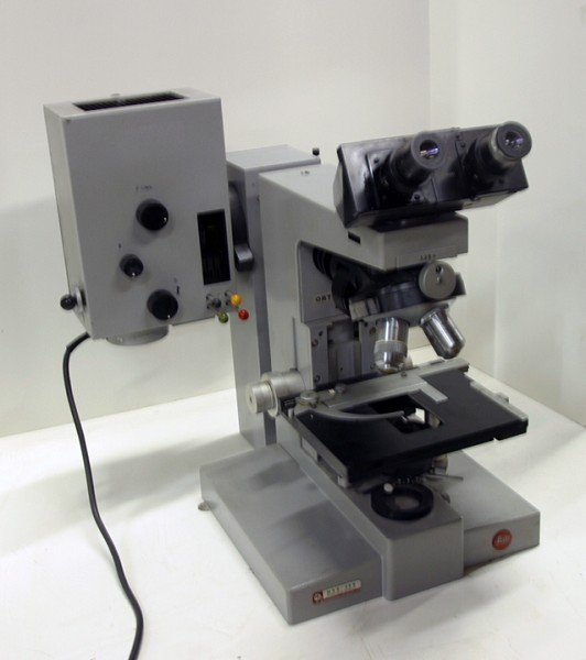 Wetzlar Leitz Ortholux Microscope Euromex Model BM