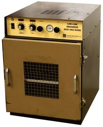 Lab Line Squaroid DuoVac Vacuum High Temp Oven Model 3628
