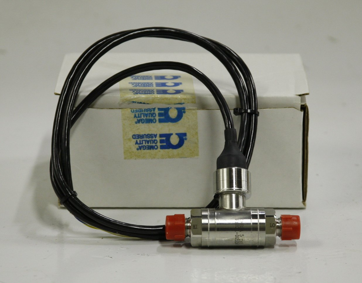Omega Engineering PX821-005DV Wet Differential Pressure Transducer