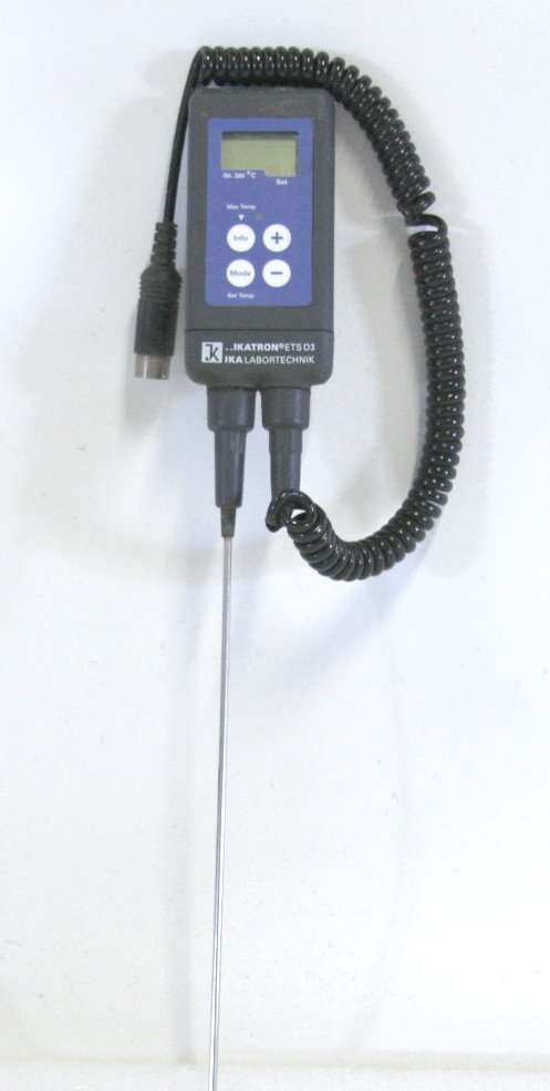 IKA Labortechnik ETS-D3 Electronic Thermometer Temperature Controller