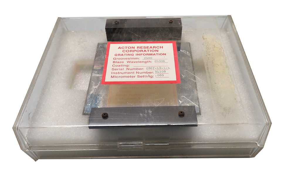 Diffraction Grating 2400 Grooves mm  Acton Research - 1