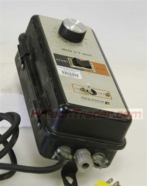 Reliance Impak-VS DC Motor Controller - 1