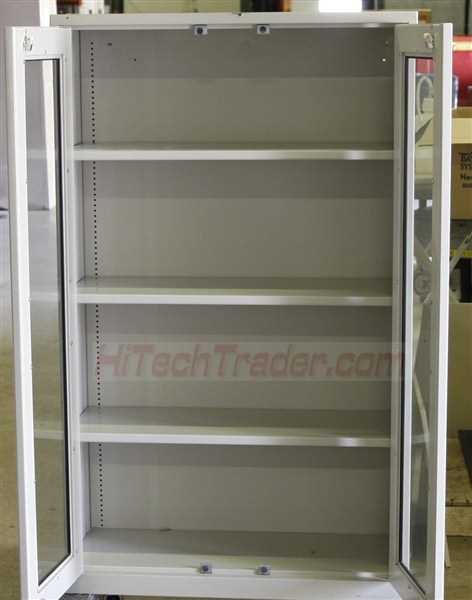 Fisher Lab Storage Cabinet with glass doors - 1