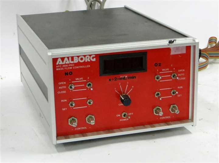 Aalborg Thermal Mass Flow Meters with Contoller - 1