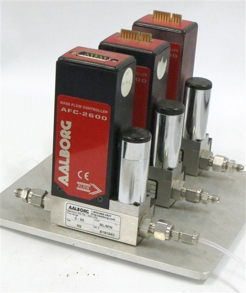 Aalborg Thermal Mass Flow Meters with Contoller