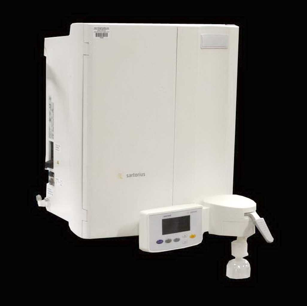 Sartorius Arium 611 DI Ultrapure Water Purification System