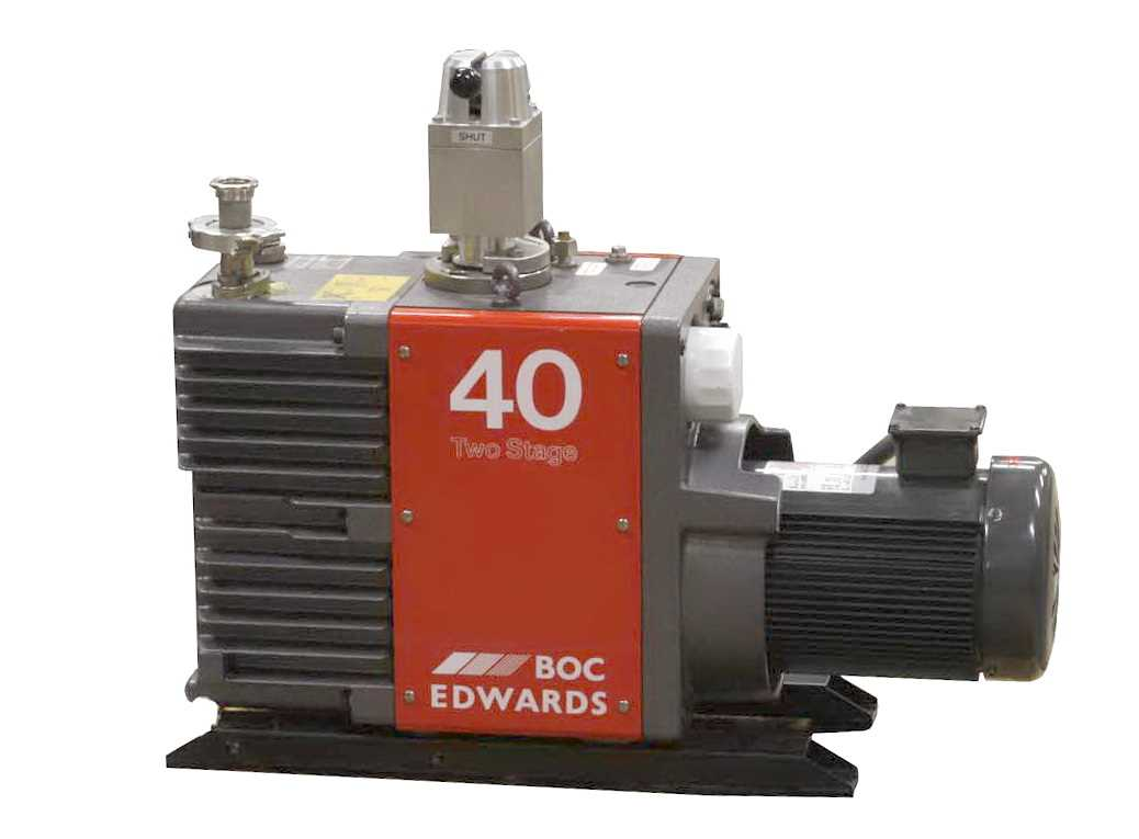 Edwards Rotary Vane Two Stage Vacuum Pump E2M40