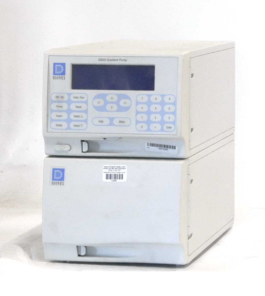 Dionex GS50 Gradient Ion Chromatorgraph Pump