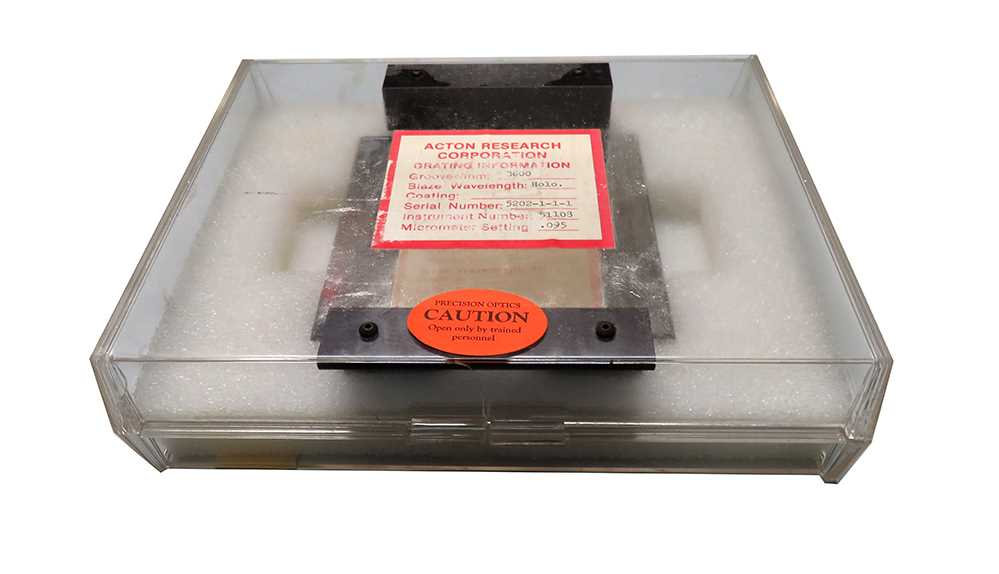 Diffraction Grating 3600 Grooves mm Acton Research – 1