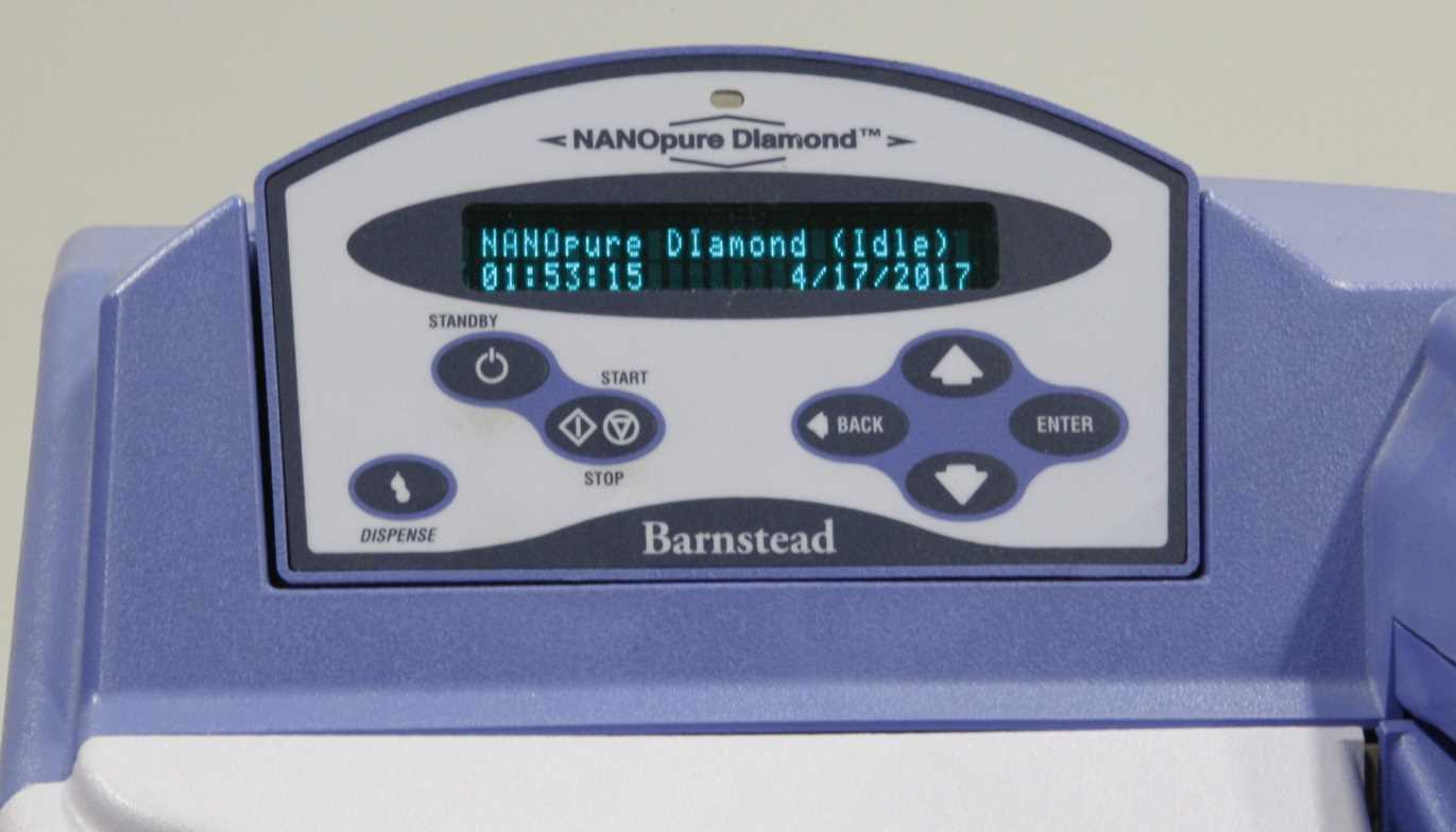 Barnstead Nanopure Diamond Analytical Water Purification System - 2