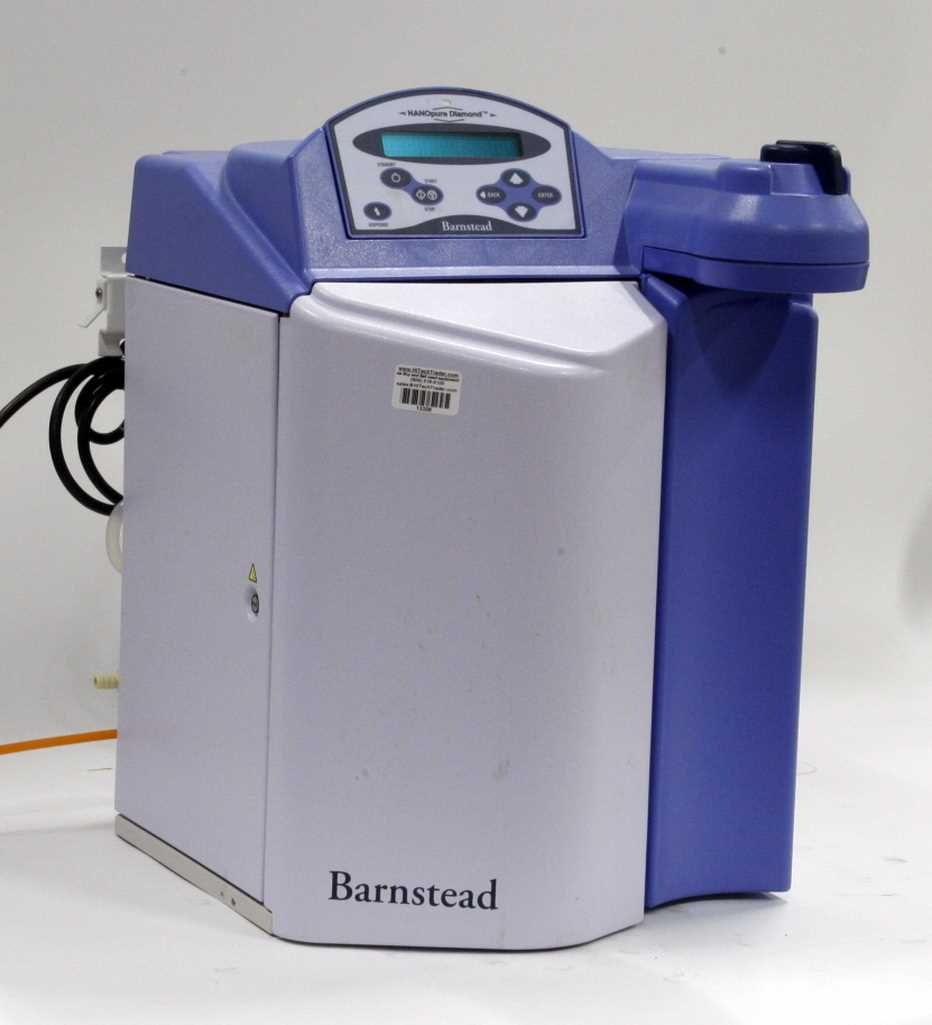 Barnstead Nanopure Diamond Analytical Water Purification System