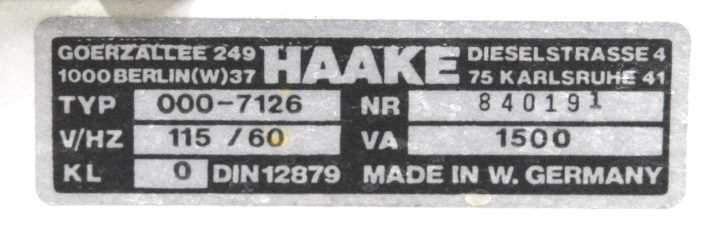 Haake A80 Recirculating Bath - 2